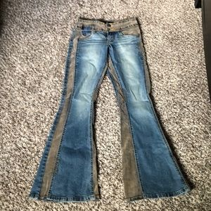 Flare mudd jeans size 0